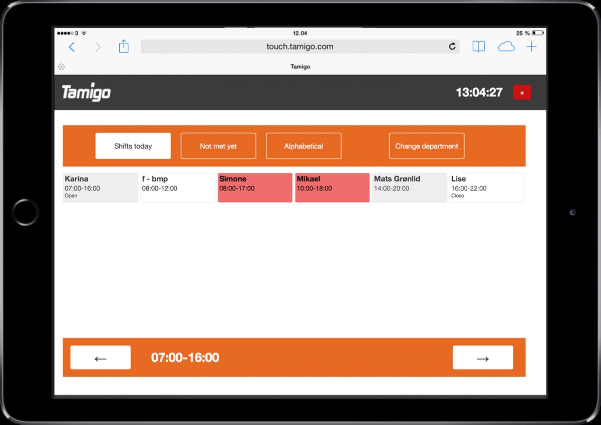 Eenvoudig en snel uw online urenregistratie!