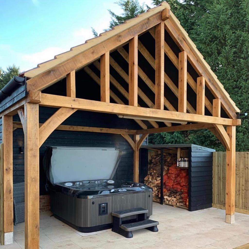 De mogelijkheden van een houten bijgebouw
