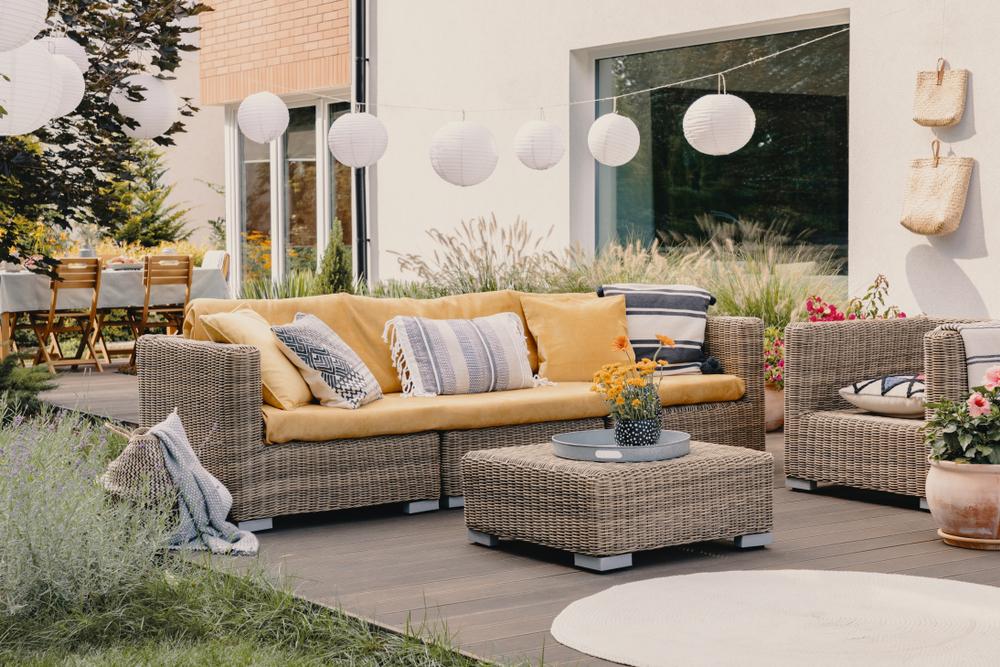 Tuinset hoek voor in je tuin of balkon